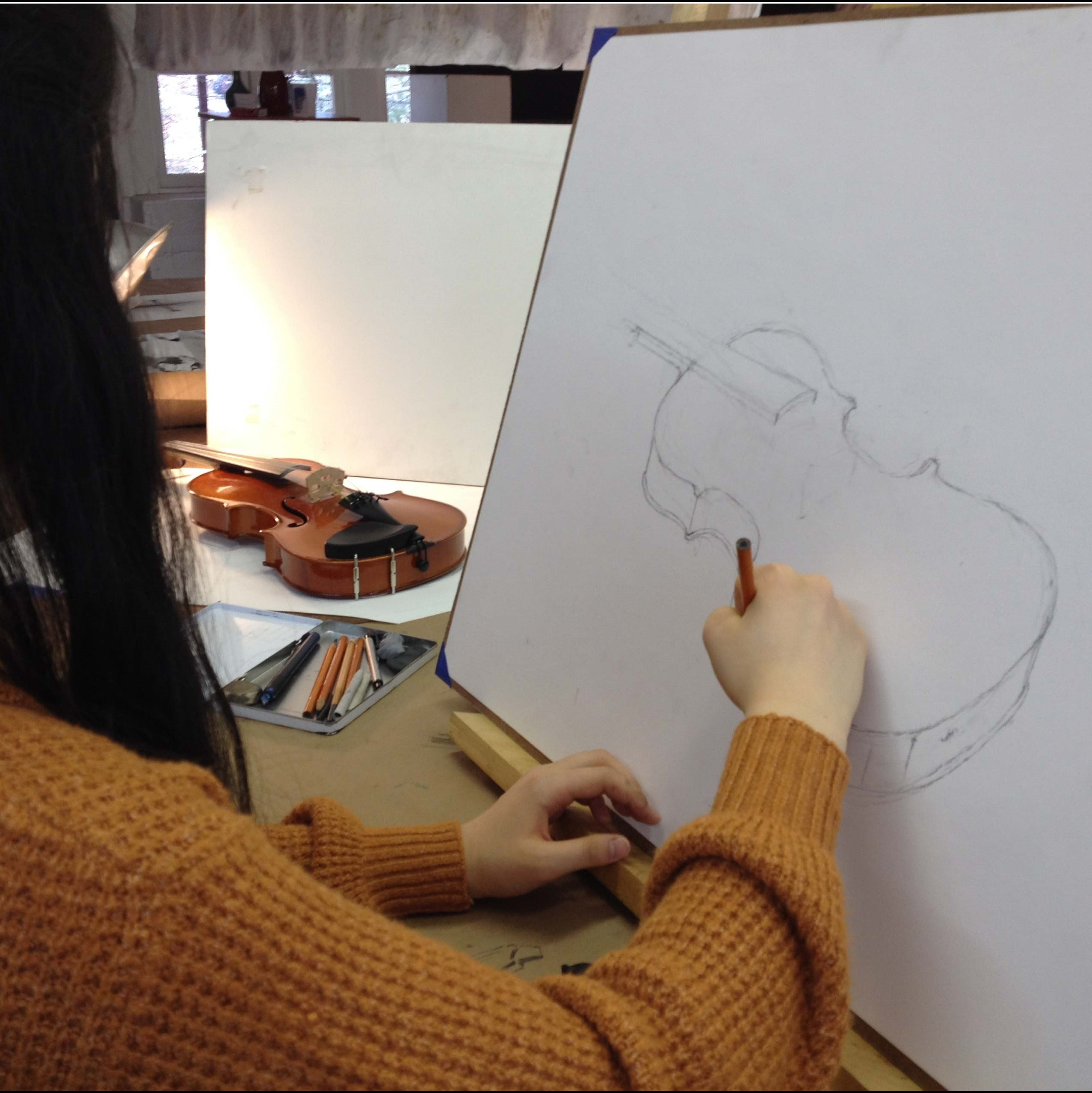 Learn To Sketch And Draw Art Set